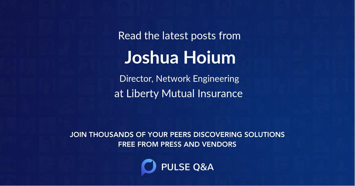 Joshua Hoium
