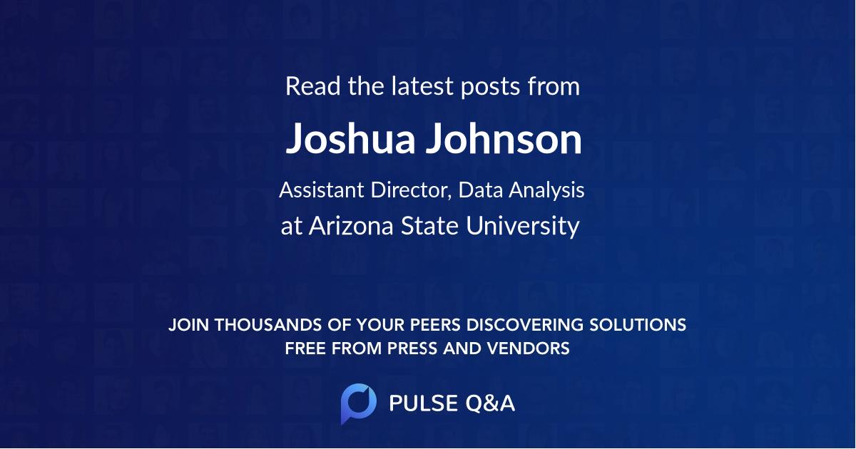 Joshua Johnson