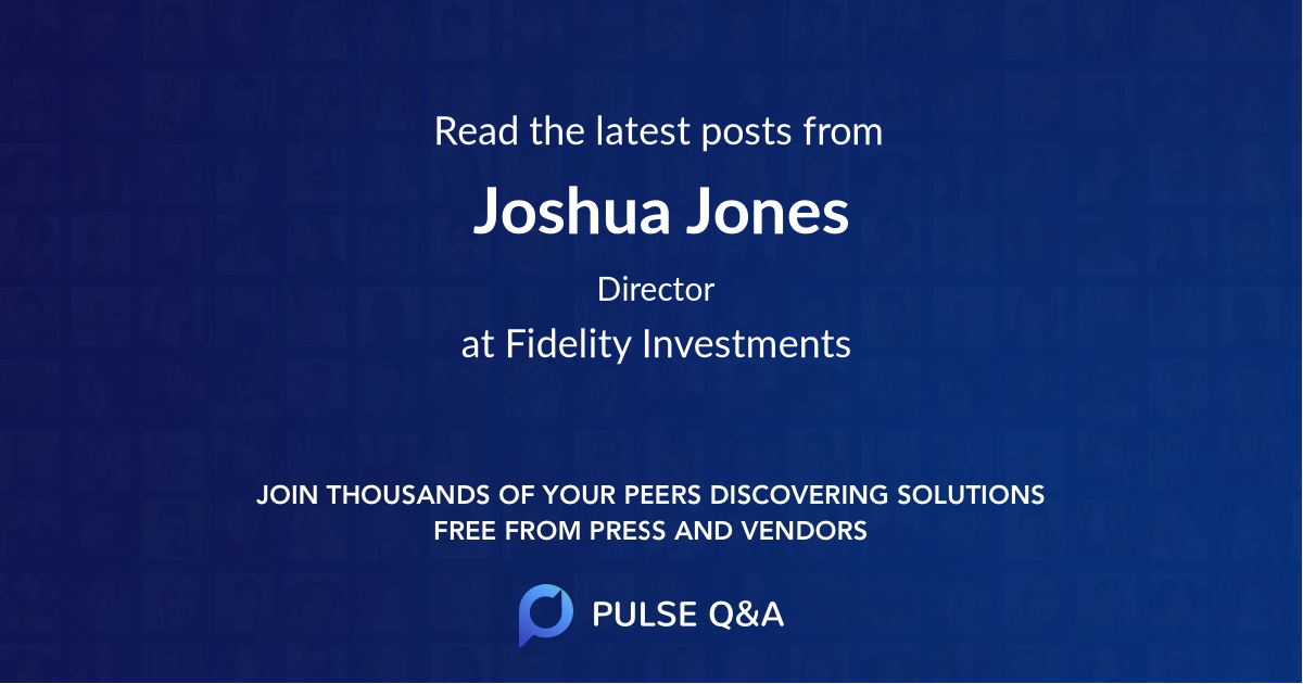 Joshua Jones