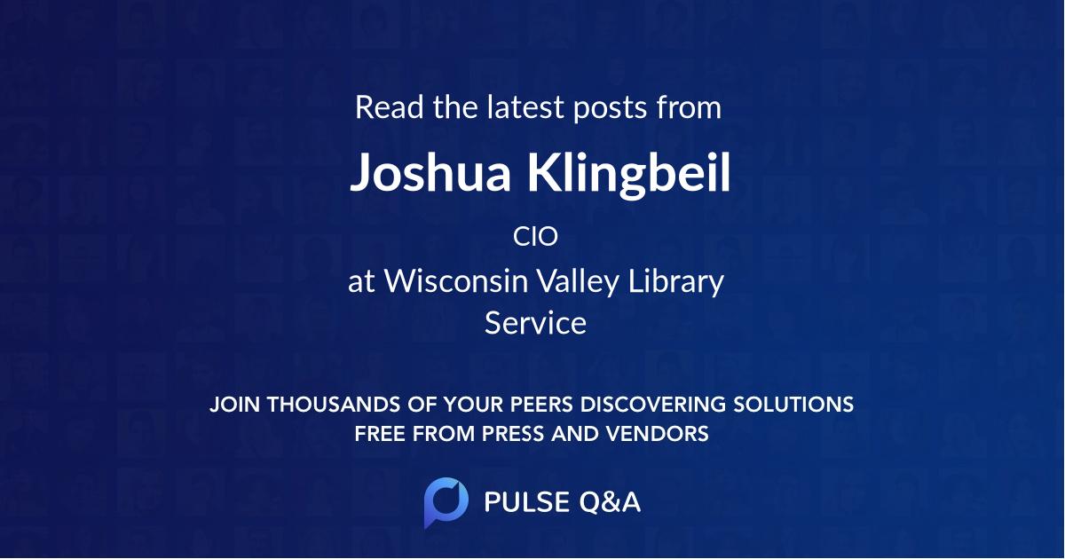 Joshua Klingbeil