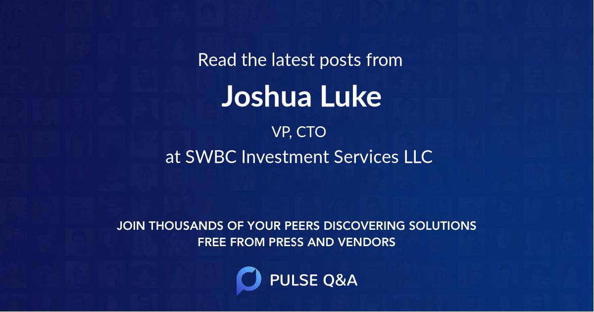 Joshua Luke