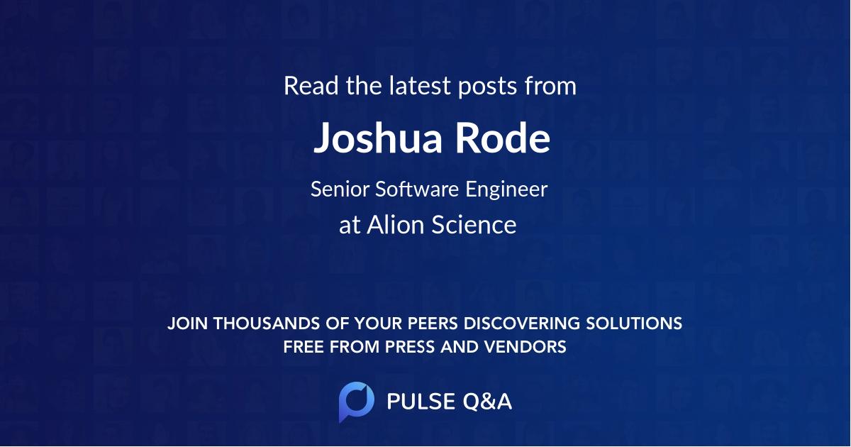 Joshua Rode