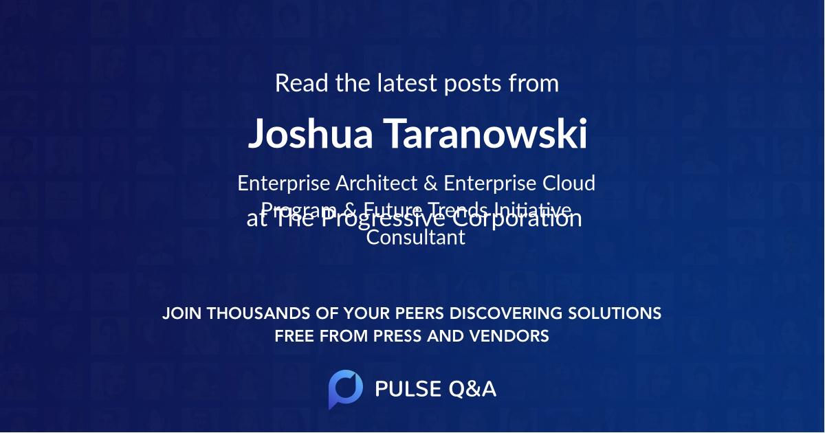 Joshua Taranowski