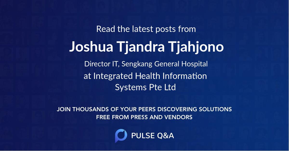 Joshua Tjandra Tjahjono