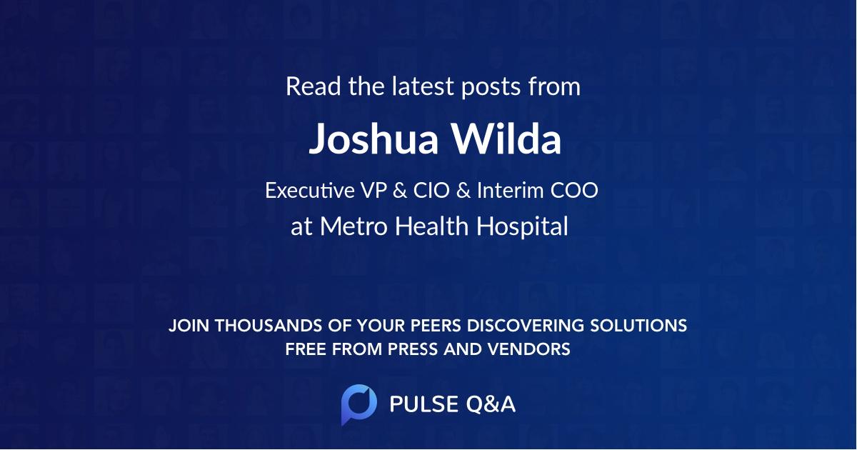 Joshua Wilda