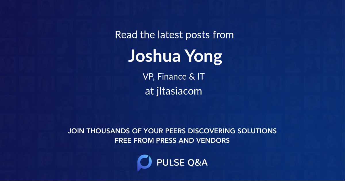 Joshua Yong