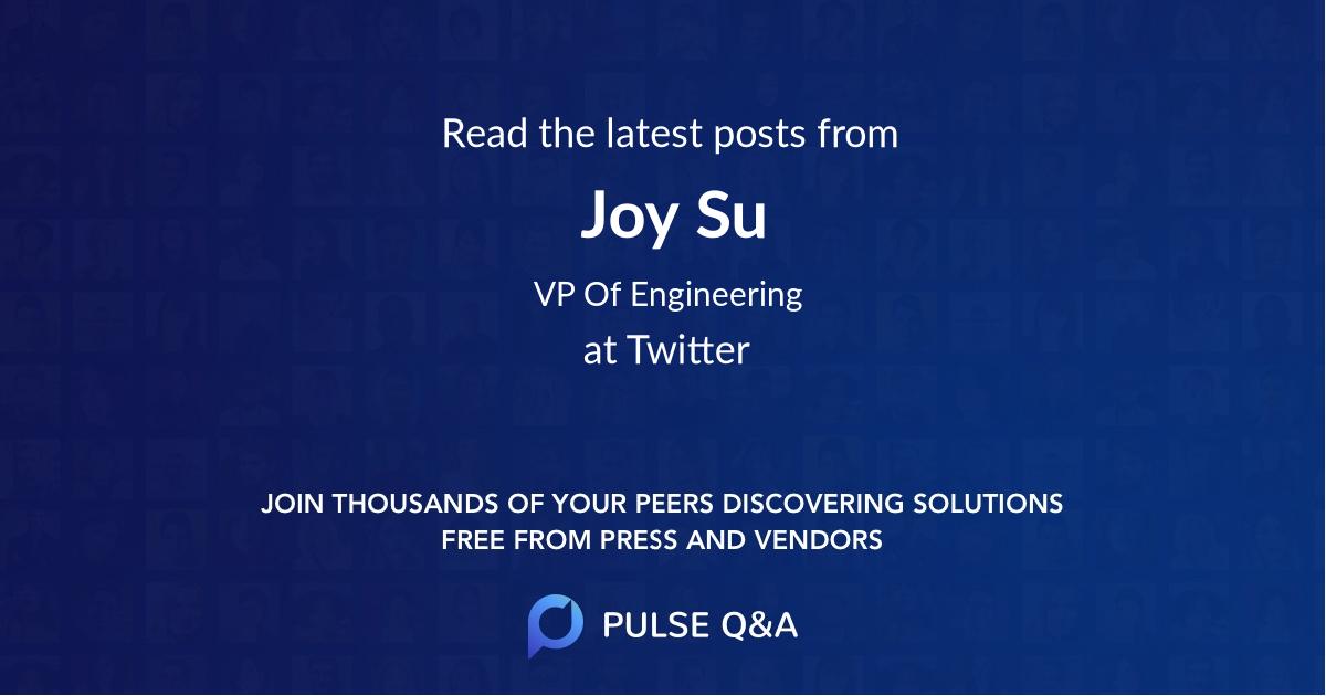 Joy Su