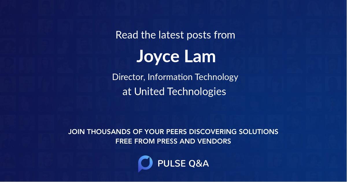 Joyce Lam