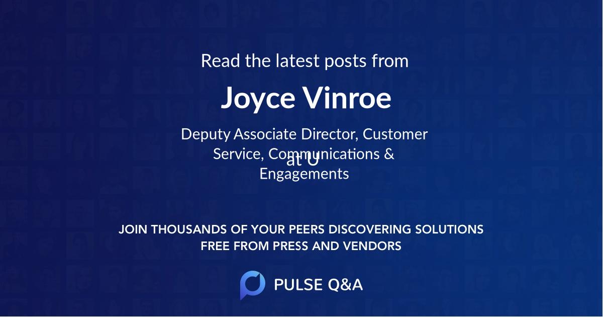 Joyce Vinroe