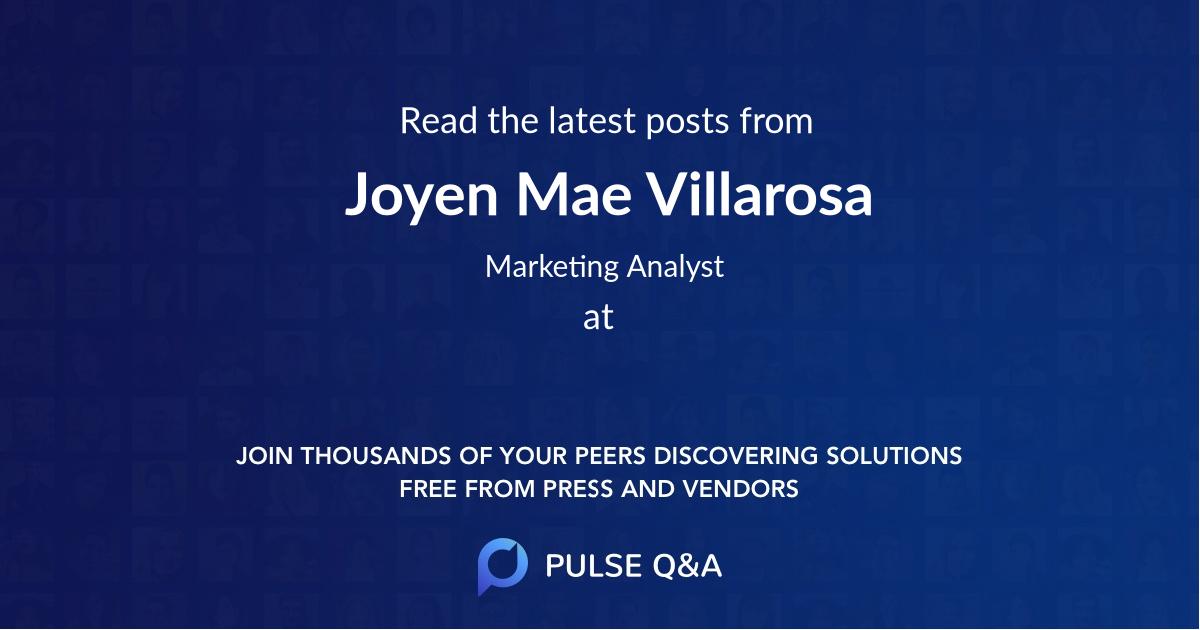 Joyen Mae Villarosa