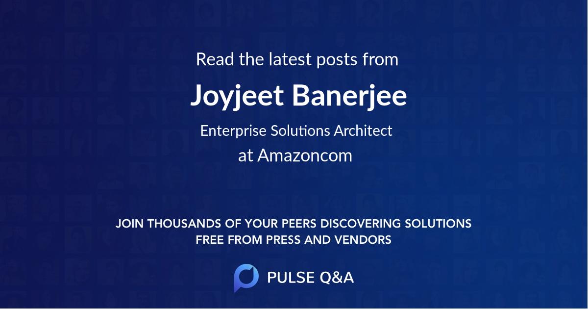 Joyjeet Banerjee