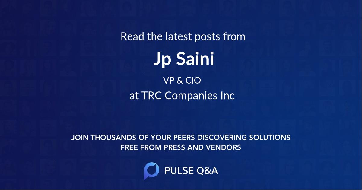 Jp Saini