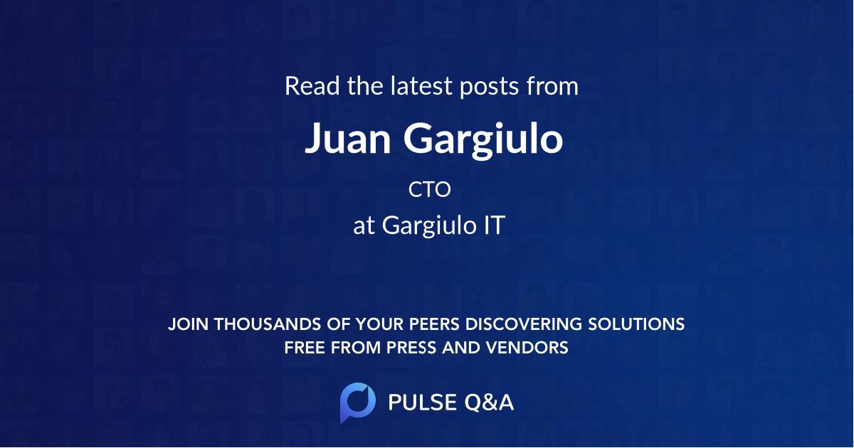Juan Gargiulo