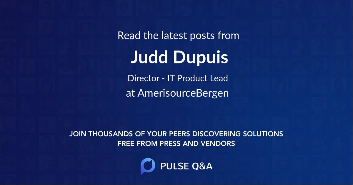 Judd Dupuis