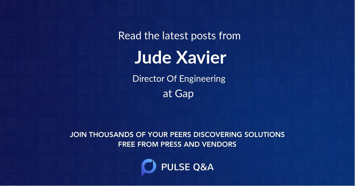 Jude Xavier