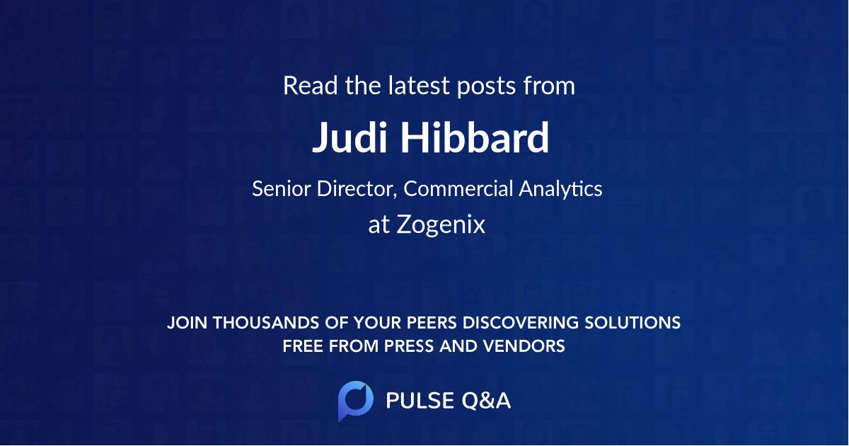 Judi Hibbard