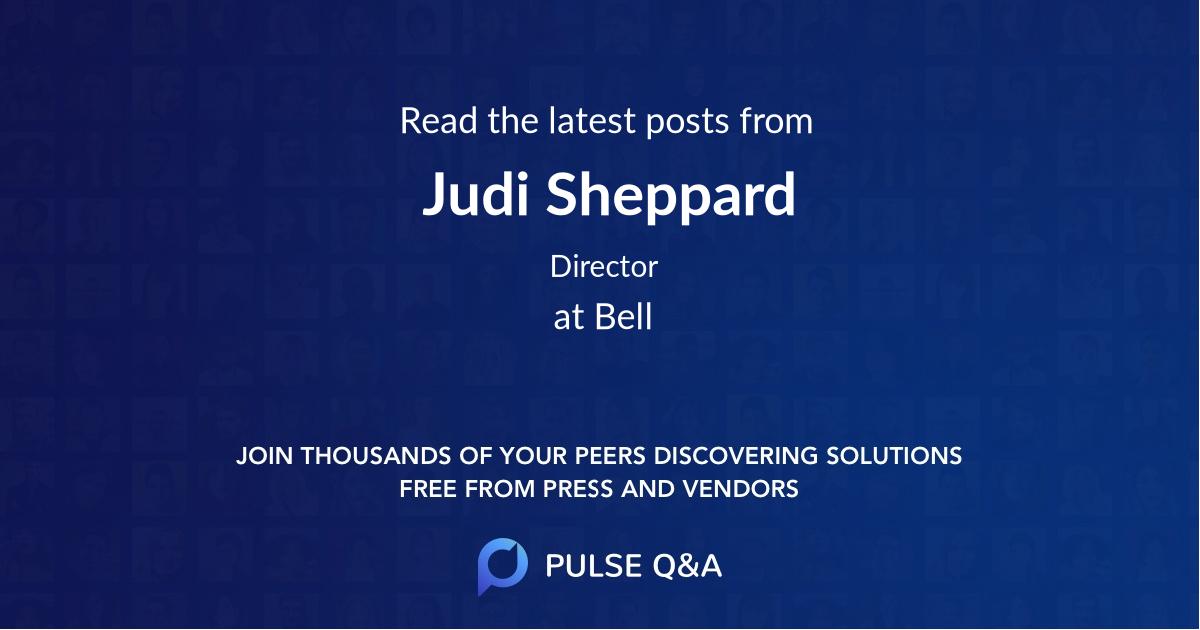 Judi Sheppard