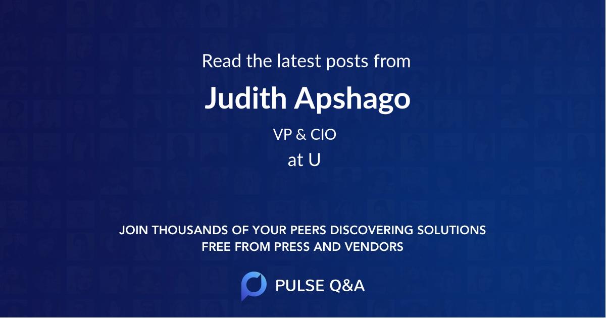Judith Apshago