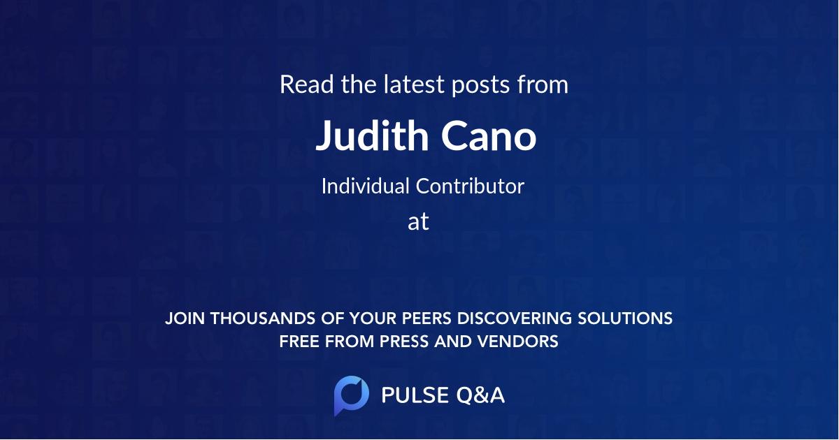 Judith Cano