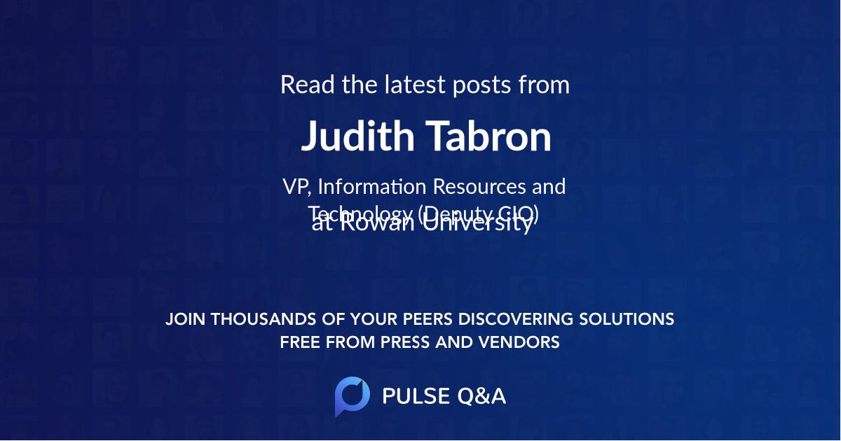 Judith Tabron