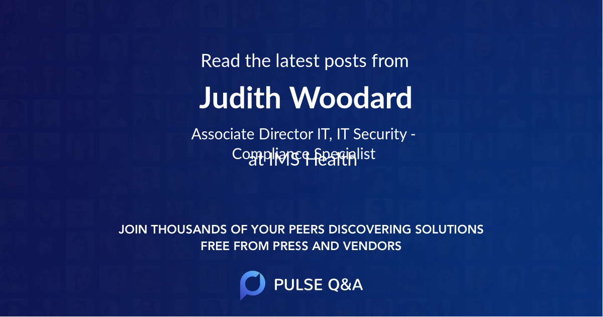 Judith Woodard