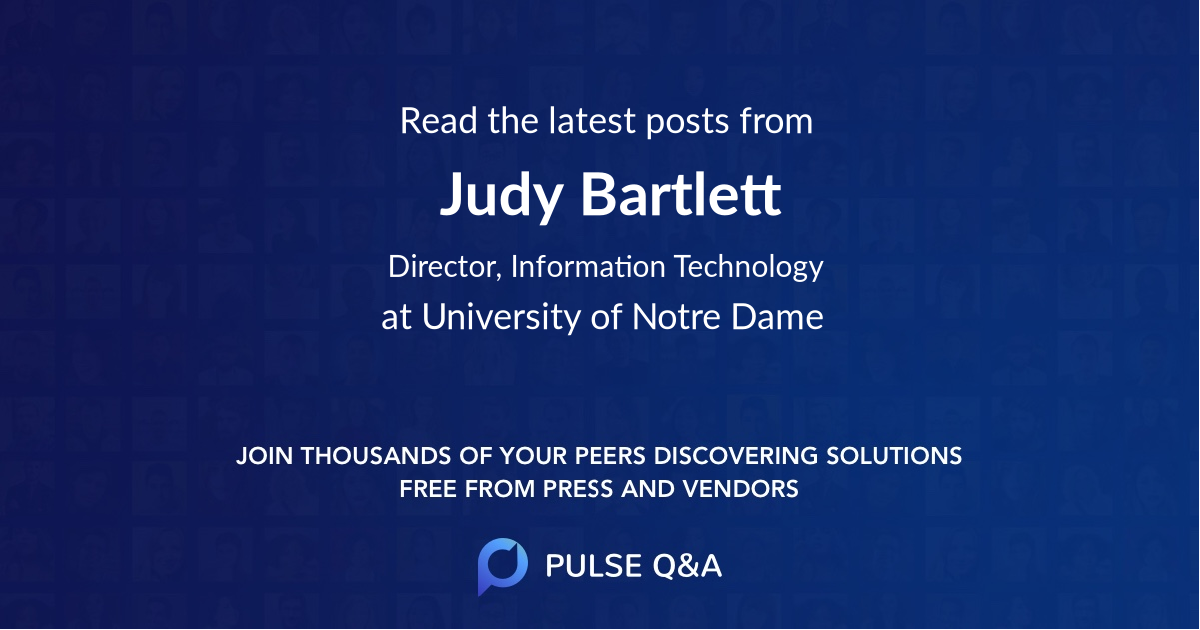 Judy Bartlett