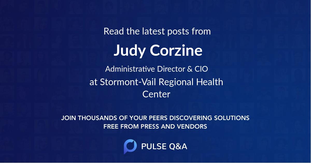 Judy Corzine
