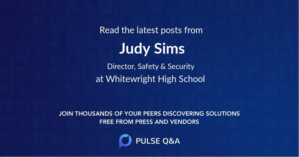 Judy Sims