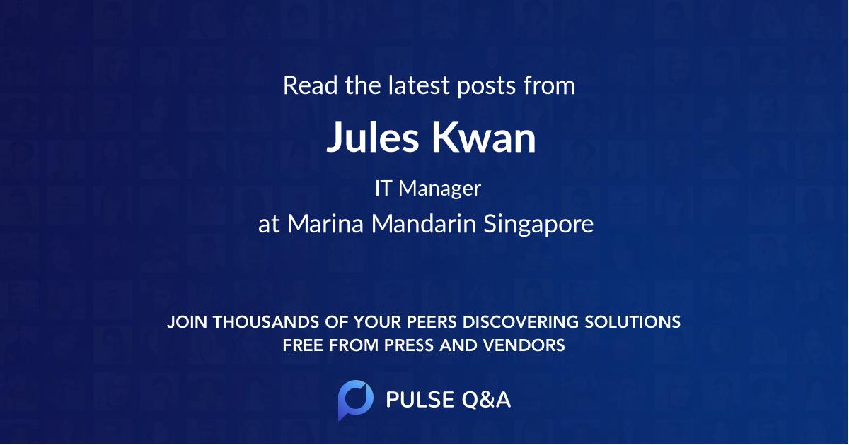 Jules Kwan