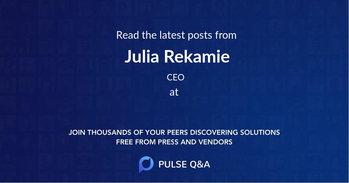 Julia Rekamie