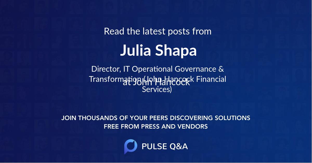 Julia Shapa
