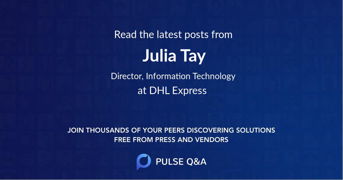 Julia Tay