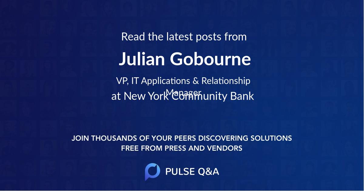 Julian Gobourne