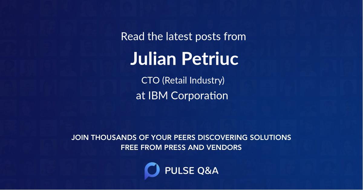Julian Petriuc