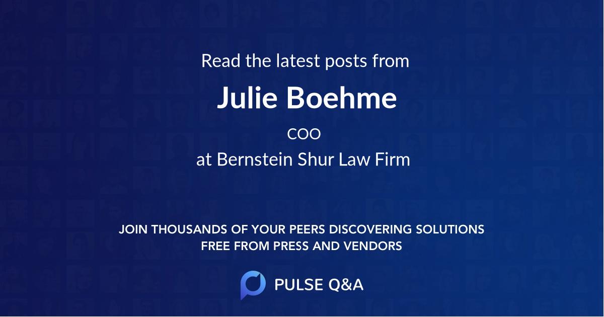 Julie Boehme
