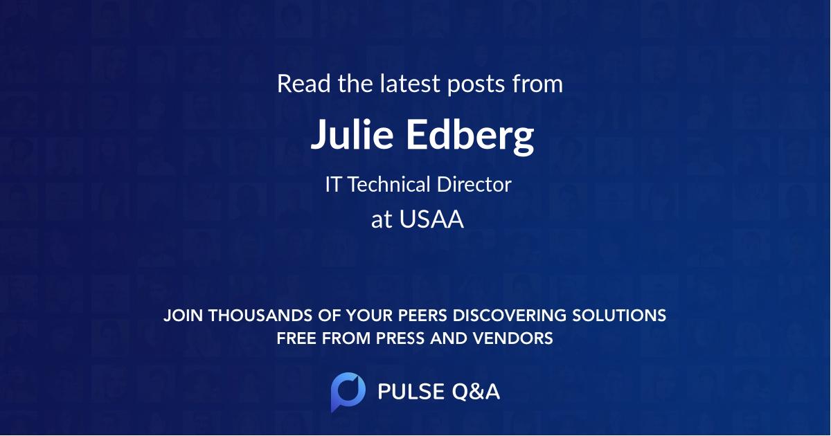 Julie Edberg