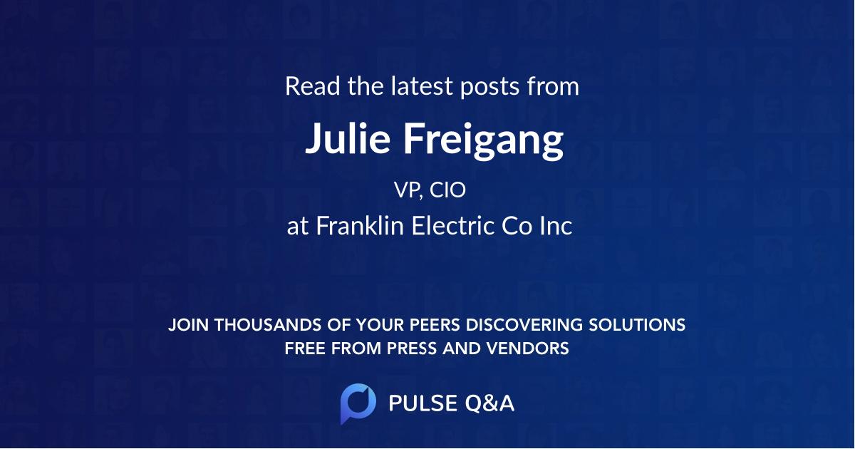 Julie Freigang