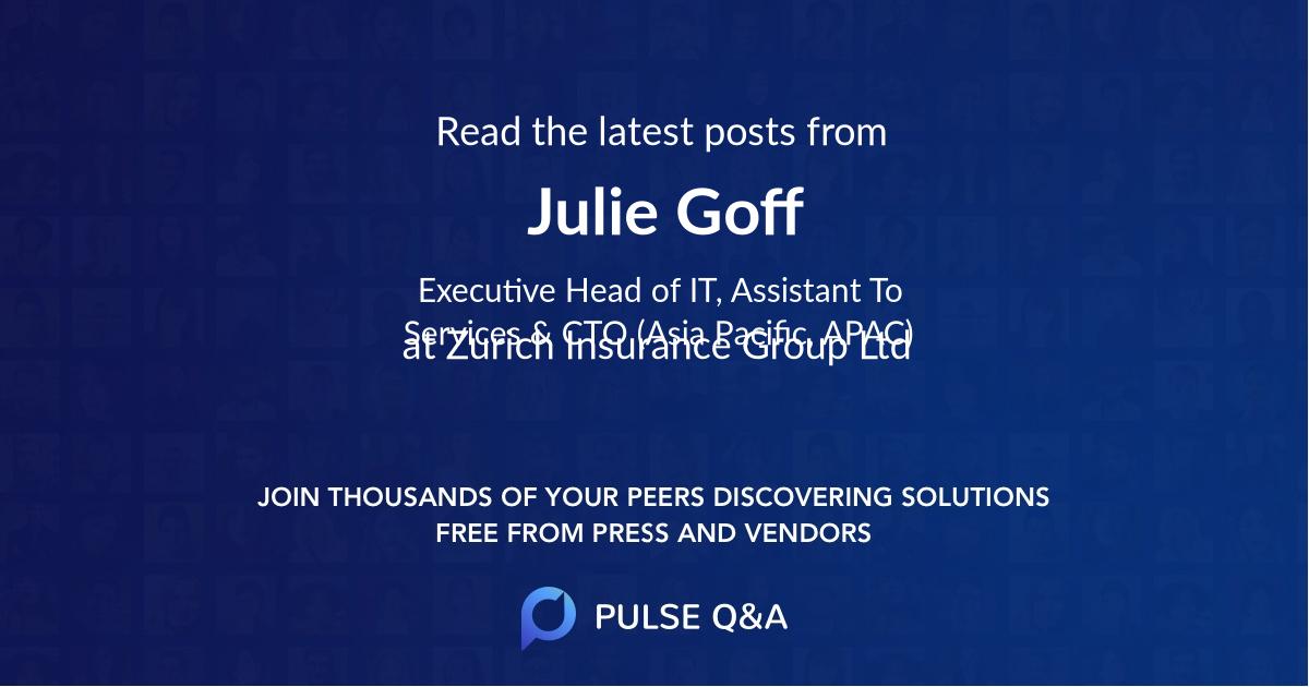 Julie Goff