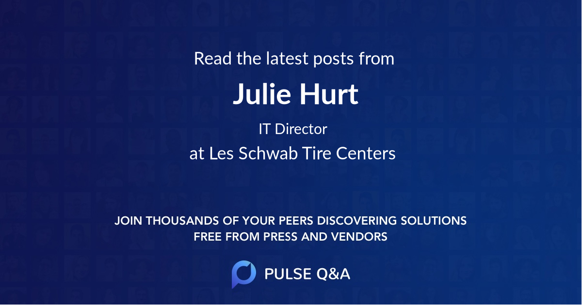 Julie Hurt