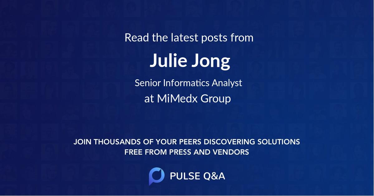 Julie Jong