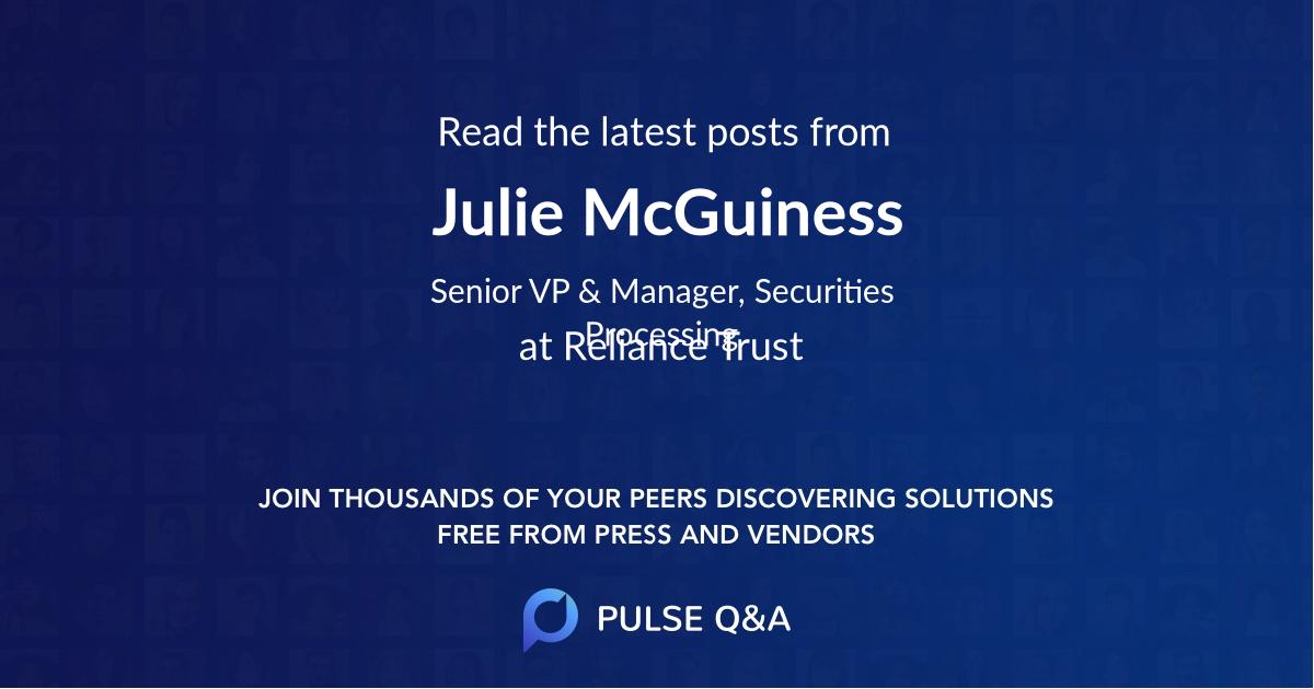 Julie McGuiness