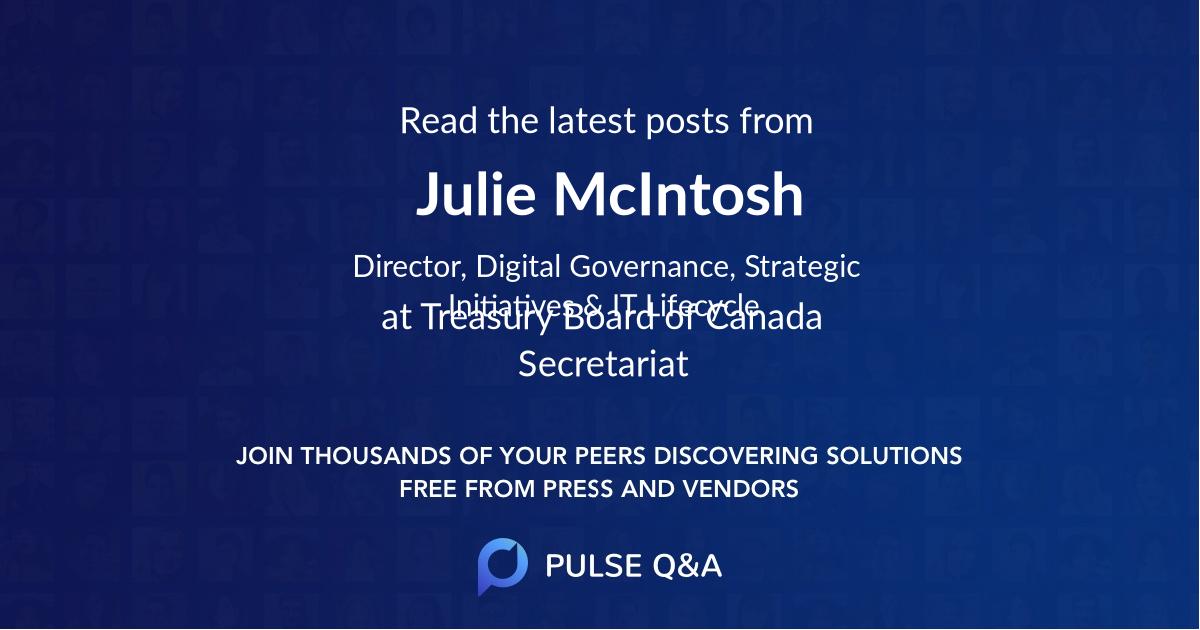 Julie McIntosh
