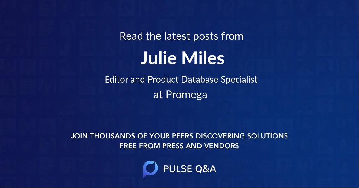 Julie Miles