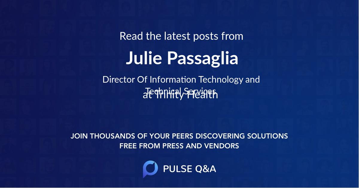 Julie Passaglia