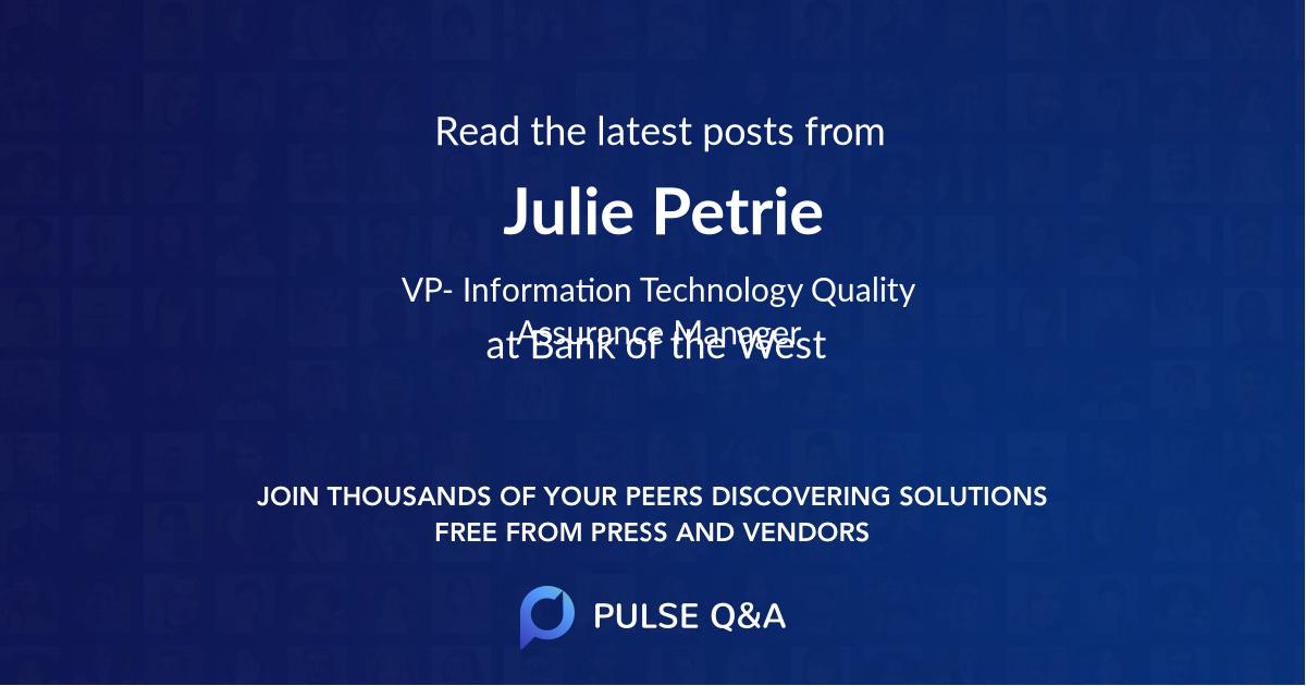 Julie Petrie