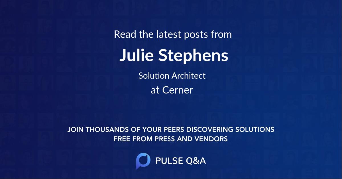 Julie Stephens