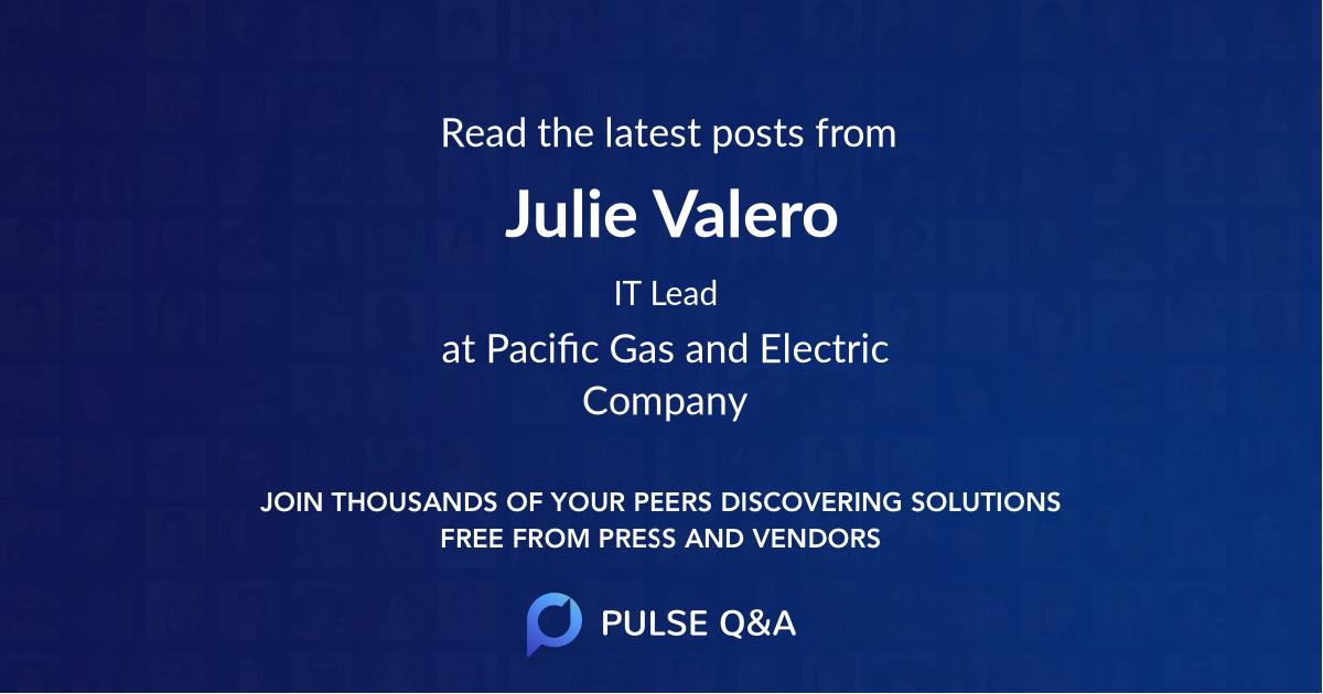 Julie Valero