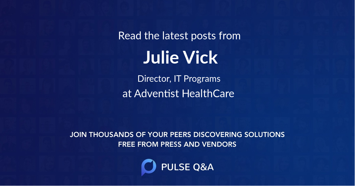 Julie Vick