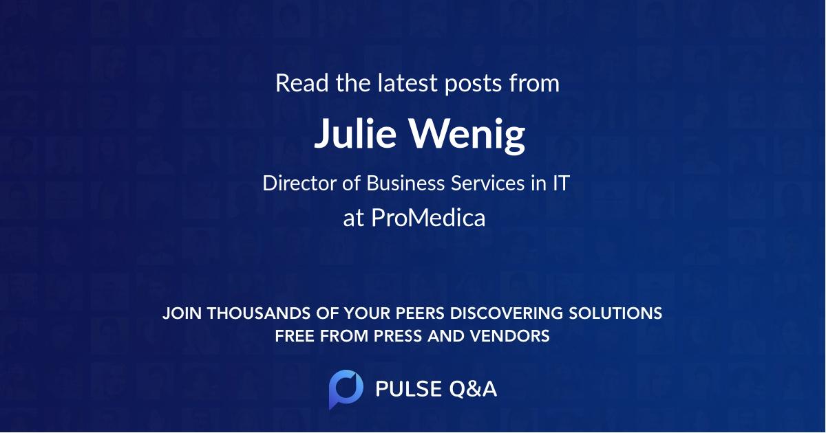 Julie Wenig