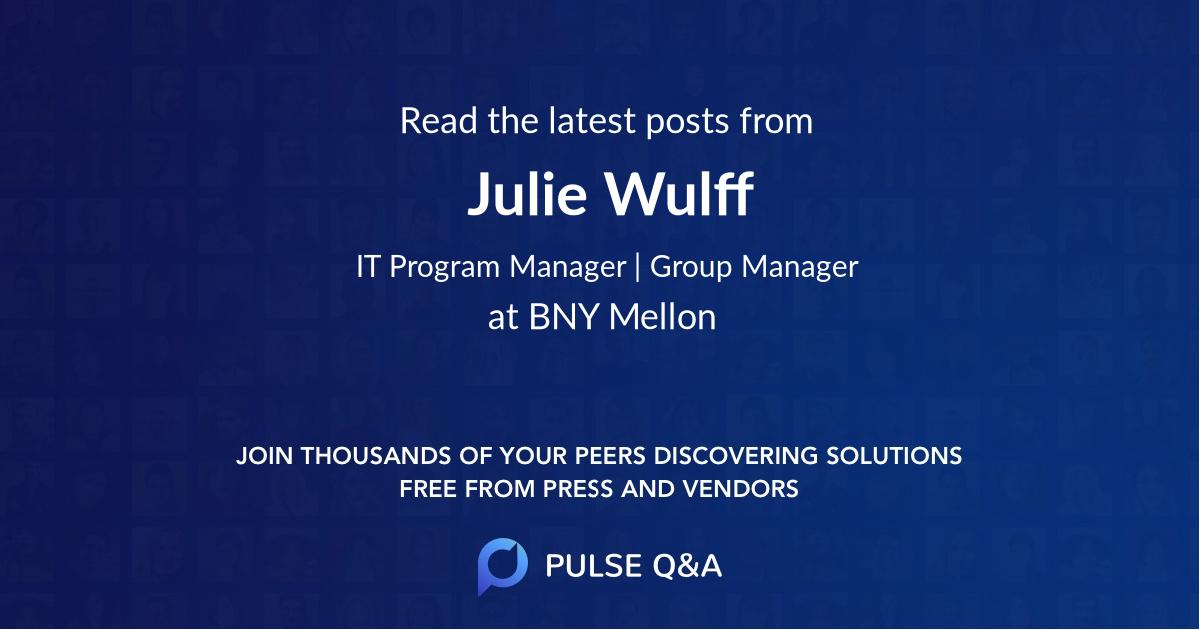 Julie Wulff